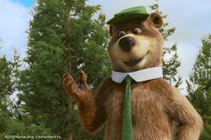 "Dan Aykroyd voices Yogi Bear in ""Yogi Bear."""