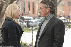 "Naomi Watts as Valerie Plame and Sean Penn as Joseph Wilson in ""Fair Game."""