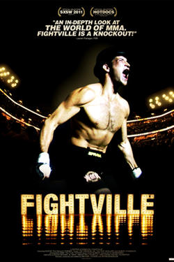 "Poster art for ""Fightville."""