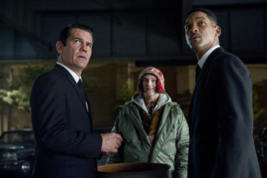 Josh Brolin as Agent K, Michael Stuhlbarg as Griffin and Will Smith as Agent J in ``Men in Black 3.''