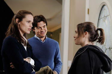 "Jennifer Garner, Jason Bateman and Ellen Page in ""Juno."""