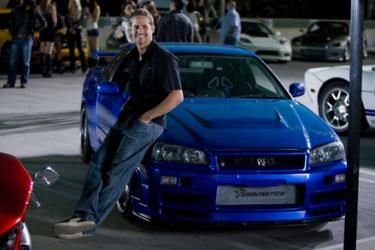 "Paul Walker as Brian O'Conner in ""Fast & Furious."""