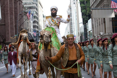A scene from ``The Dictator.''