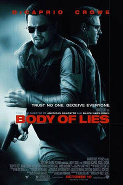 "Poster art for ""Body of Lies."""