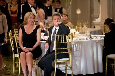 "Emma Thompson as Kate Walker and Dustin Hoffman as Harvey Shine in ""Last Chance Harvey."""