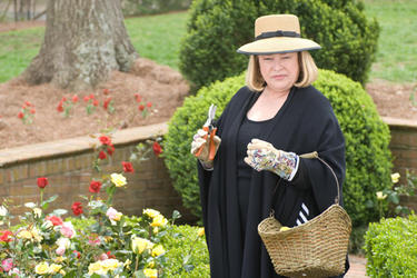 "Kathy Bates as Charlotte Cartwright in ""Tyler Perry's The Family That Preys."""