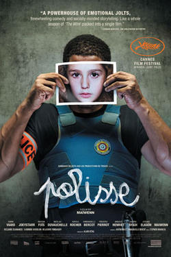 "Poster art for ""Polisse."""