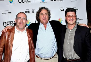 "Producer William Horberg, Tom Bernard and Producer Anthony Bregman at the Canada premiere of ""Synecdoche, New York"" during the 2008 Toronto International Film Festival."