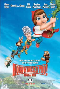 "Poster art for ""Hoodwinked Too! Hood vs. Evil."""