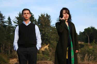 "Jeremy Strong and Fairuza Balk in ""Humboldt County."""