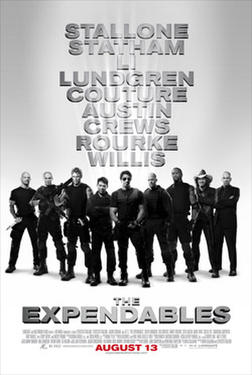 "Poster art for ""The Expendables."""