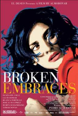 "Poster art for ""Broken Embraces."""