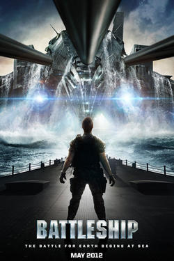 "Poster art for ""Battleship."""