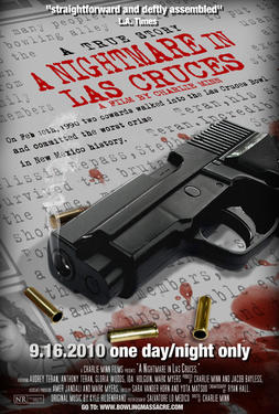"Poster art for ""A Nightmare in Las Cruces."""