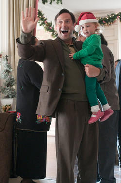 "Tom Lennon and Ava in ""A Very Harold & Kumar Christmas."""