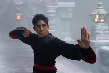 "Dev Patel in ""The Last Airbender."""