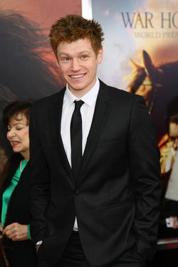 "Matt Milne at the world premiere of ""War Horse"" in New York."
