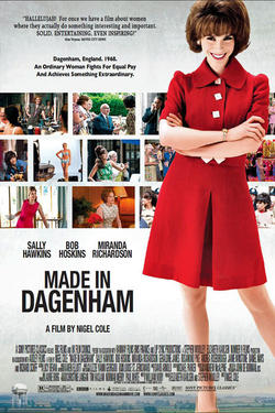 "Poster art for ""Made in Dagenham"""
