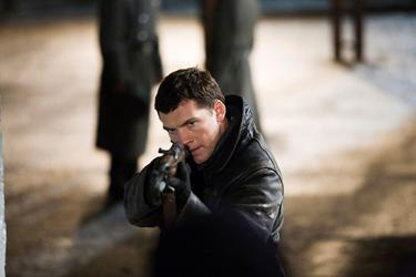 "Sam Worthington in ""The Debt."""