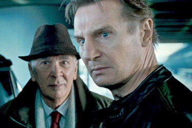 "Liam Neeson and Frank Langella in ""Unknown."""