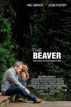 "Poster art for ""The Beaver"""