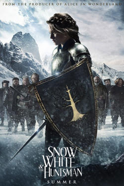 "Poster art for ""Snow White and the Huntsman."""