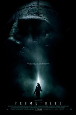 "Poster art for ""Prometheus."""
