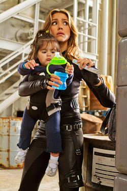 "Jessica Alba as Marissa Cortez Wilson in ""Spy Kids 4: All the Time in the World."""