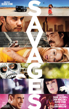 "Poster art for ""Savages."""