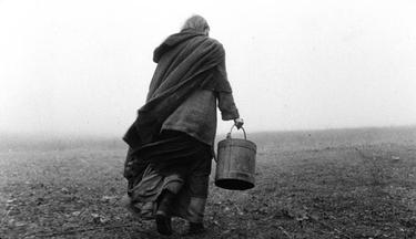 "A scene from ""The Turin Horse."""