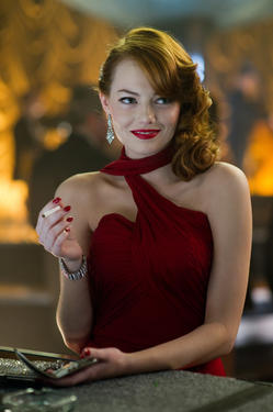 "Emma Stone as Grace Faraday in ""Gangster Squad."""