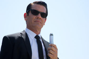 "Josh Brolin in ""Men in Black III."""