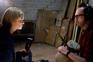 "A scene from ""The Innkeepers."""