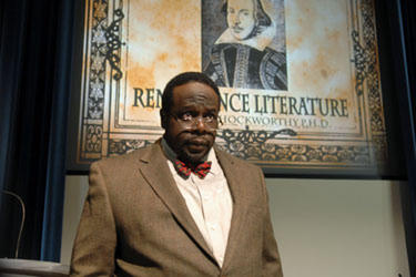 "Cedric the Entertainer in ""All's Faire in Love."""