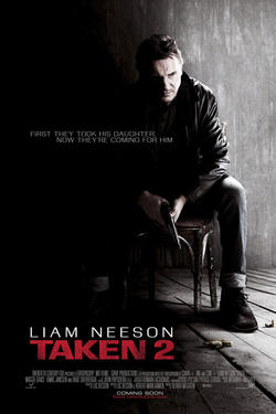 "Poster art for ""Taken 2."""