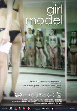 "Poster Art for ""Girl Model."""