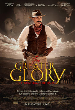 "Poster art for ""For Greater Glory."""