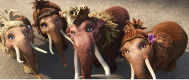 "A scene from ""Ice Age: Continental Drift."""