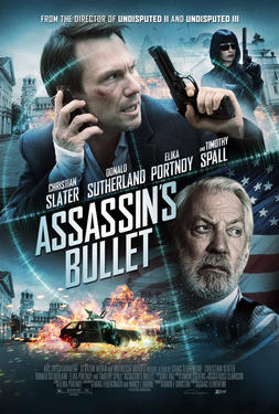 "Poster art for ""Assassin's Bullet."""