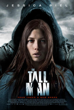 "Poster art for ""The Tall Man."""