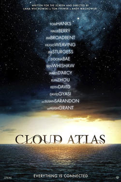"Poster art for ""Cloud Atlas."""