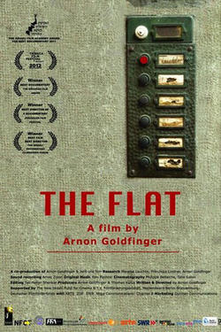 "Poster art for ""The Flat."""