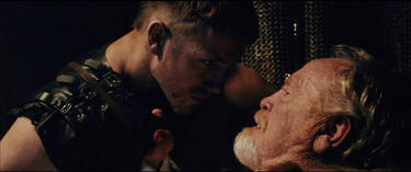 "Charlie Bewley and James Cosmo in ""Hammer of the Gods."""
