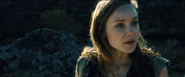 "Alexandra Dowling in ""Hammer of the Gods."""