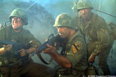 "Scene from the film "" We Were Soldiers."""