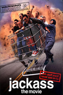"Poster art for ""Jackass: The Movie."""