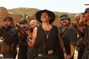 "Danny Trejo in ""Delta Farce."""