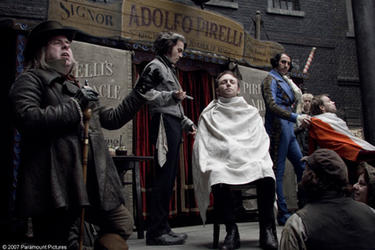 "A scene from ""Sweeney Todd: The Demon Barber of Fleet Street."""