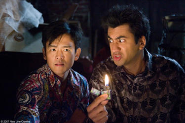 "John Cho and Kal Penn in ""Harold and Kumar Escape From Guantanamo Bay."""