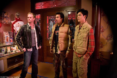 "Neil Patrick Harris, Kal Penn and John Cho in ""Harold and Kumar Escape From Guantanamo Bay."""